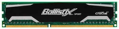 2GB kit (1GBx2), Ballistix 240-pin DIMM, DDR3 PC3-10600 memory module