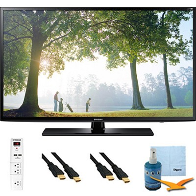 UN55H6203 - 55-Inch 120hz Full HD 1080p Smart TV Plus Hook-Up Bundle