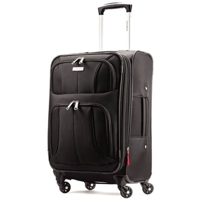 Aspire XLite 20-Inch Expandable Spinner Luggage (Black) 74569-1041