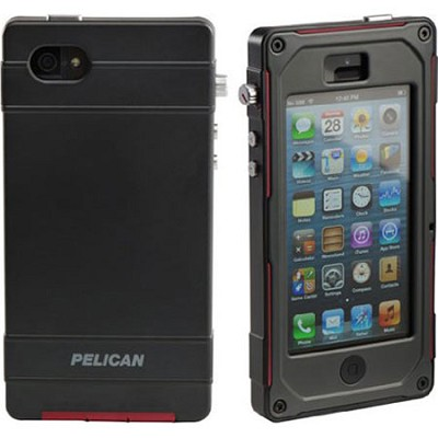 Progear Vault Series For Iphone 5, Black/Red/Dark Gray CE1180-I50A-1AC