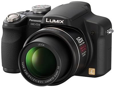 Lumix DMC-FZ18K 8.1 Megapixel Digital Camera w/ 18x Optical Zoom (Black)