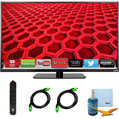 E390i-B - 39-Inch Smart LED HDTV 1080p 120Hz Plus Hook-Up Bundle