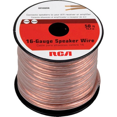 AH1650SN 50 FT 16 Gauge Speaker Wire