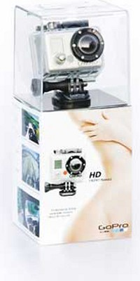 HD HERO NAKED Camera      ** OPEN BOX **