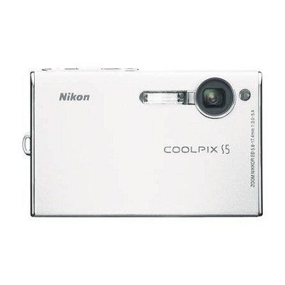 Coolpix S5 Digital Camera, White - Special Edition