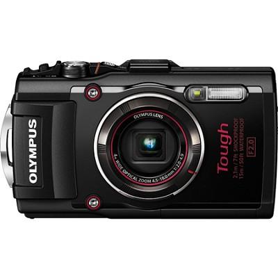 TG-4 16MP 1080p HD Waterproof Digital Camera with 3-Inch LCD Display - Black