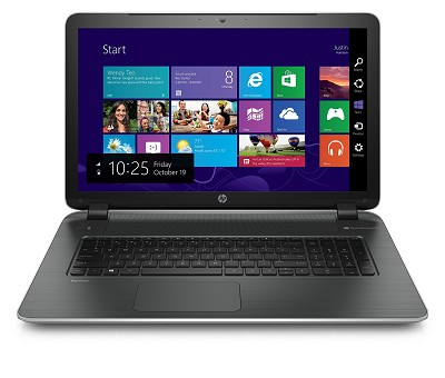 Pavilion 17-f210nr  17.3` HD+ Notebook PC - AMD Quad-Core A6-6310 APU Processor