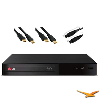 Wi-Fi Streaming Smart Blu-ray Player with Hook-Up Bundle - BP340
