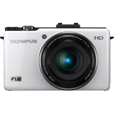 XZ-1 10MP f1.8 Lens 3-inch OLED Monitor Digital Camera - White