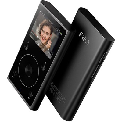 X1-II High Resolution Lossless Music Player (2nd Generation) (Black)