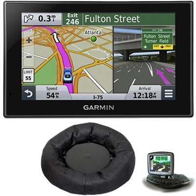 nuvi 2589LMT Advanced Series 5` GPS Navigation System Friction Mount Bundle