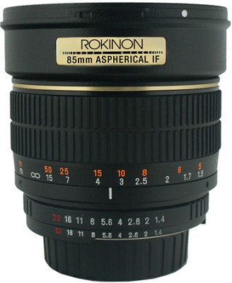 85mm f/1.4 Aspherical Lens for Pentax DSLR Cameras