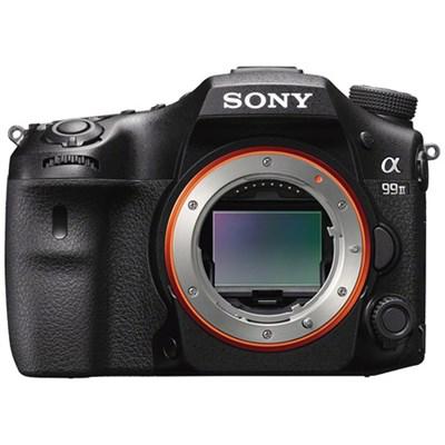 a99 II Full Frame Translucent Mirror Digital SLR Camera, Black (Body Only)