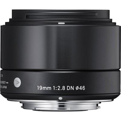 19mm F2.8 EX DN ART Lens for Micro Four Thirds (Black) - OEPN BOX