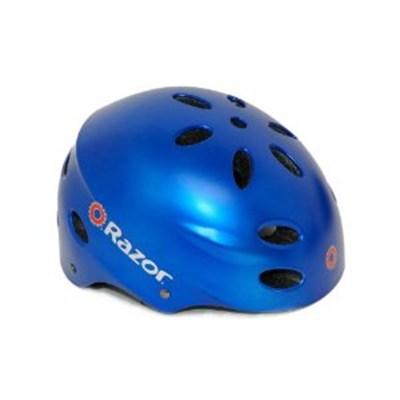 V17 Youth Ages 8 - 14 Helmet  - Satin Blue - OPEN BOX