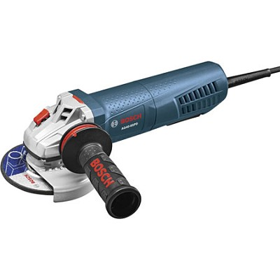 4-1/2` Angle Grinder with No-Lock-on Paddle Switch