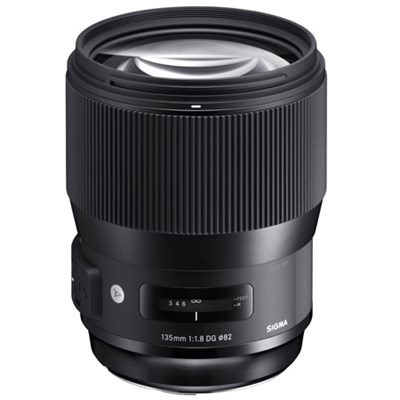 135mm F1.8 DG HSM ART Full Frame Telephoto Lens for Sigma Mount (240-956)