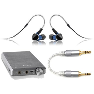 UE 900S Universal Fit Earphones + FiiO E12A IEM Headphone Amplifier Bundle