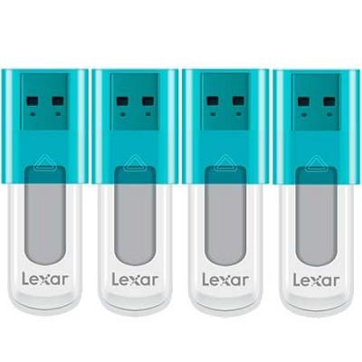 8 GB JumpDrive High Speed USB Flash Drive (Blue) 4-Pack (32GB Total)