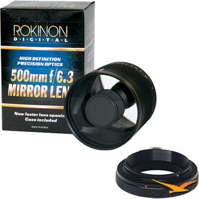 ED500M - 500mm f/6.3 Multi-Coated ED Mirror Lens for Pentax