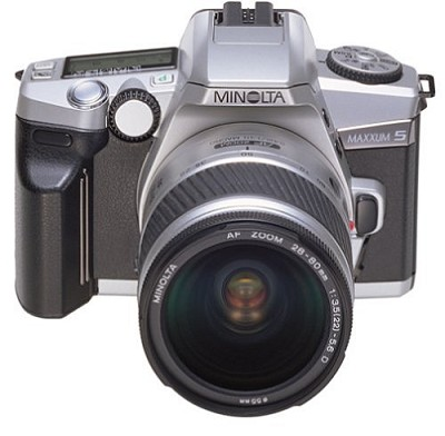 MAXXUM 5 Kit w/  28-80/75-300 DOUBLE LENS KIT WITH MINOLTA USA WARRANTY