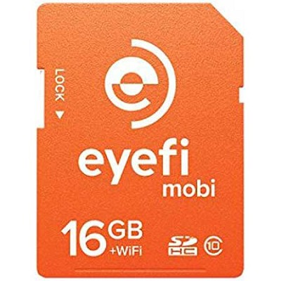 Mobi 16GB SDHC Class 10 Wireless Memory Card With 90 Day Eyefi Cloud Service