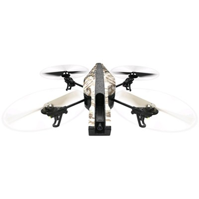 AR Drone 2.0 Elite Edition App Controlled Quadcopter Sand Refurbished - PF721800