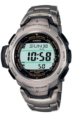 PAW500T-7V - Pathfinder Multi-Band Twin Sensor Titanium Watch