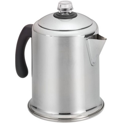 BuyDig.com - Farberware 50124 8-Cup Stainless Steel Percolator