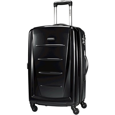 Winfield 2 24` Hardside Spinner Luggage (Black)