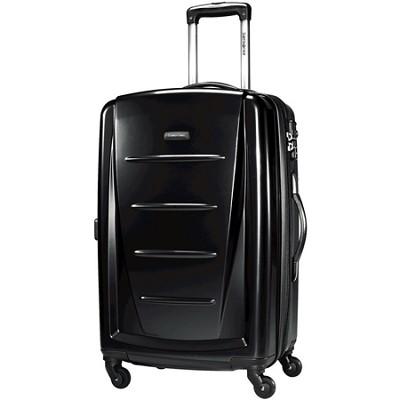 Winfield 2 24` Hardside Spinner Luggage (Black)