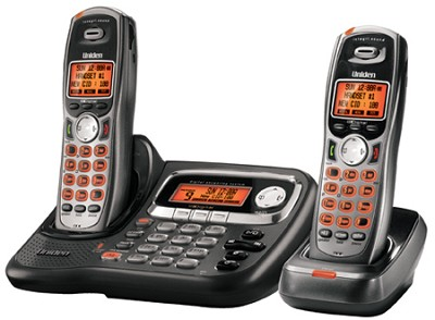 TRU9485-2 Expandable Cordless System with Digital Answering System, Dual Keypad,