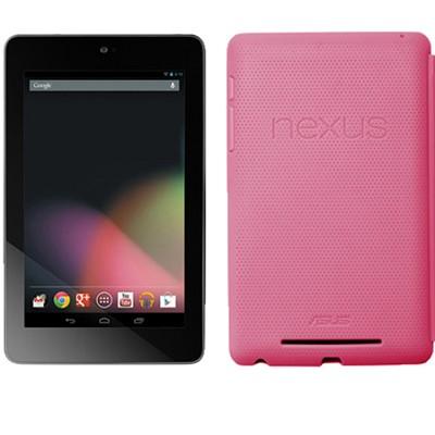 Google Nexus 7 ASUS-1B32 32GB Tablet + Original Nexus Case (Pink)