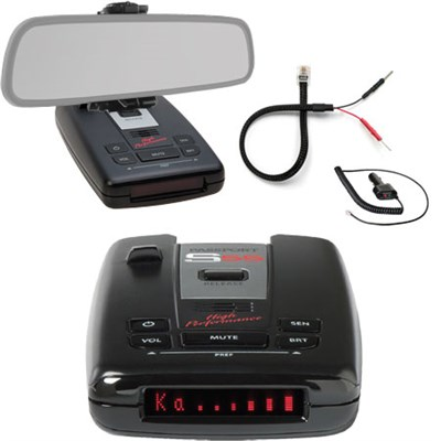Passport S55 High Performance Radar and Laser Detector with Mirror Mount Kit