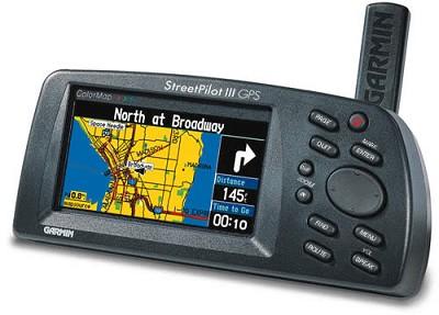 Street Pilot III Deluxe - GPS Receiver