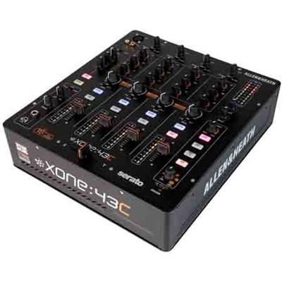 High Performance 4+1 Channel DJ Mixer with Soundcard - XONE:43C