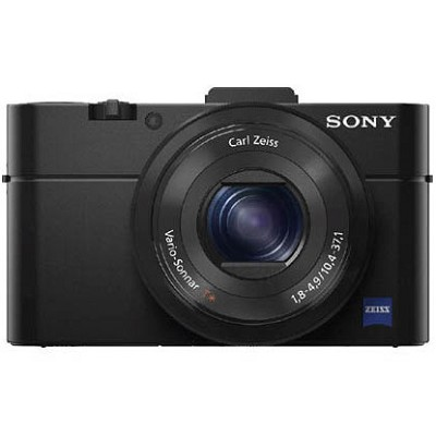 Cyber-shot DSC-RX100 II 20.2 MP Digital Camera - Black