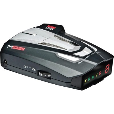 Digital Radar/Laser Detector w/ UltraBright Display & Voice Alert XRS9470