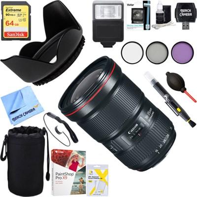 EF 16-35mm f/2.8L III USM Ultra Wide Angle Zoom Lens + 64GB Ultimate Kit