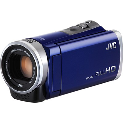 GZ-E300AUS - HD Everio Camcorder 40x Zoom f1.8 (Blue)