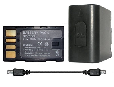 BP-823 2300mAh Lithium Battery for Select JVC Camcorders