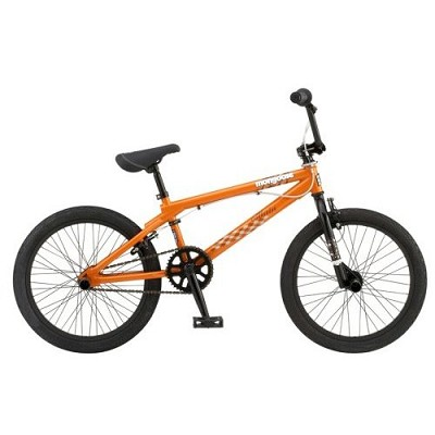 Villain Freestyle 20` BMX Bike - Burnt Orange