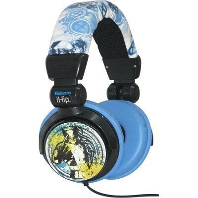 Marvel Comics Extreme DJ-Style Headphones - Wolverine