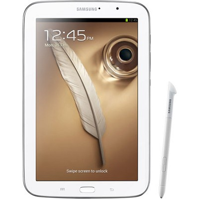 8 Galaxy Note 8.0 16GB White Tablet Recertified 90 Day Warranty