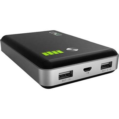 Enerpak Vault 11,000mAh Dual Port 2.1A External Battery for Tablet & Smartphones