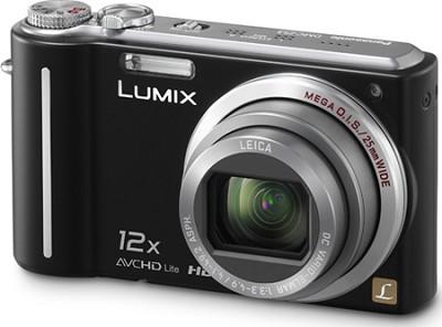 DMC-ZS3K LUMIX 10.1 MP Compact Digital Camera with 12x Super Zoom (Black)