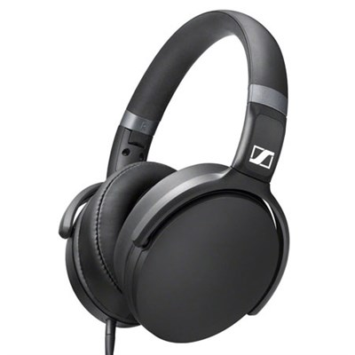 HD 4.30g Lightweight Ultra-Slim Headphones (Black)