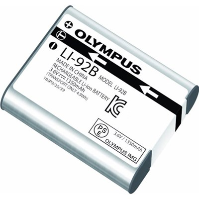 Lithium Ion Rechargeable LI-92B Battery for TG-1, TG-2, TG-3, XZ-1, XZ-2, SP-100