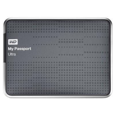 My Passport Ultra 1 TB USB 3.0 Portable Hard Drive - WDBZFP0010BTT (Titanium)