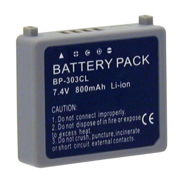 CGA-S303 - 800mAh Lithium Battery for Panasonic SDR-S100